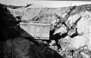 Löffelbagger im Tagebau